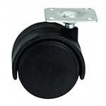 Black Castor Wheel with Guard